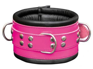 104-1Pink Collar Halsband made in EU