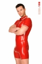 wtpolo55   latex surfsuit  red